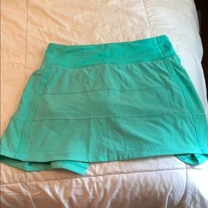 Lululemon pace rival skirt size 2 tall